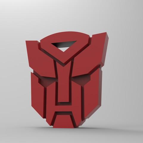 untitled.167.jpg Download free STL file Transformers logo • 3D printer template, GuilhemPerroud