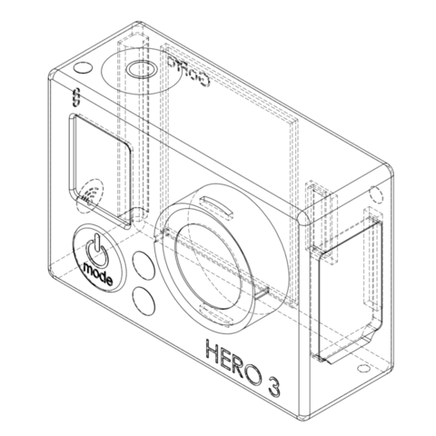 3d Printer Models Gopro Cults