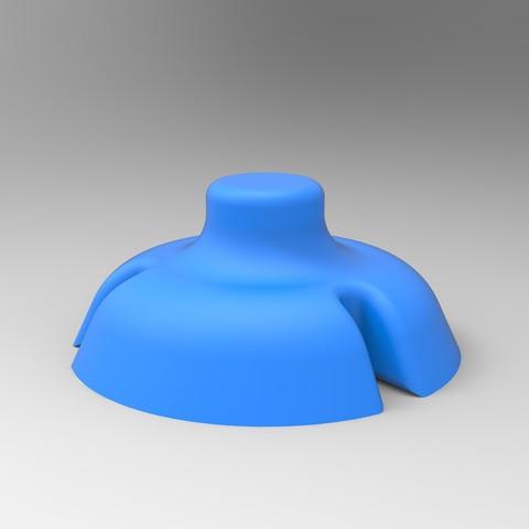 h.jpg Download STL file HELP CUTTING CAKE PART CUTTING • 3D printer object, GuilhemPerroud