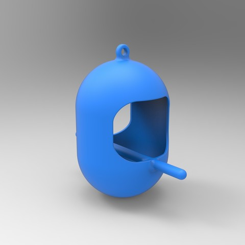 3D printer models Bird feeders, GuilhemPerroud