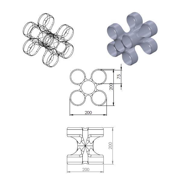bou.png Download free STL file Storage unit for wine bottles • 3D printable design, GuilhemPerroud