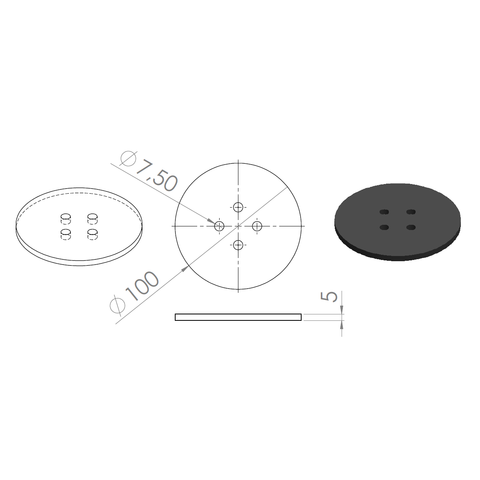 1.png Download free STL file Cup mats • 3D print design, GuilhemPerroud