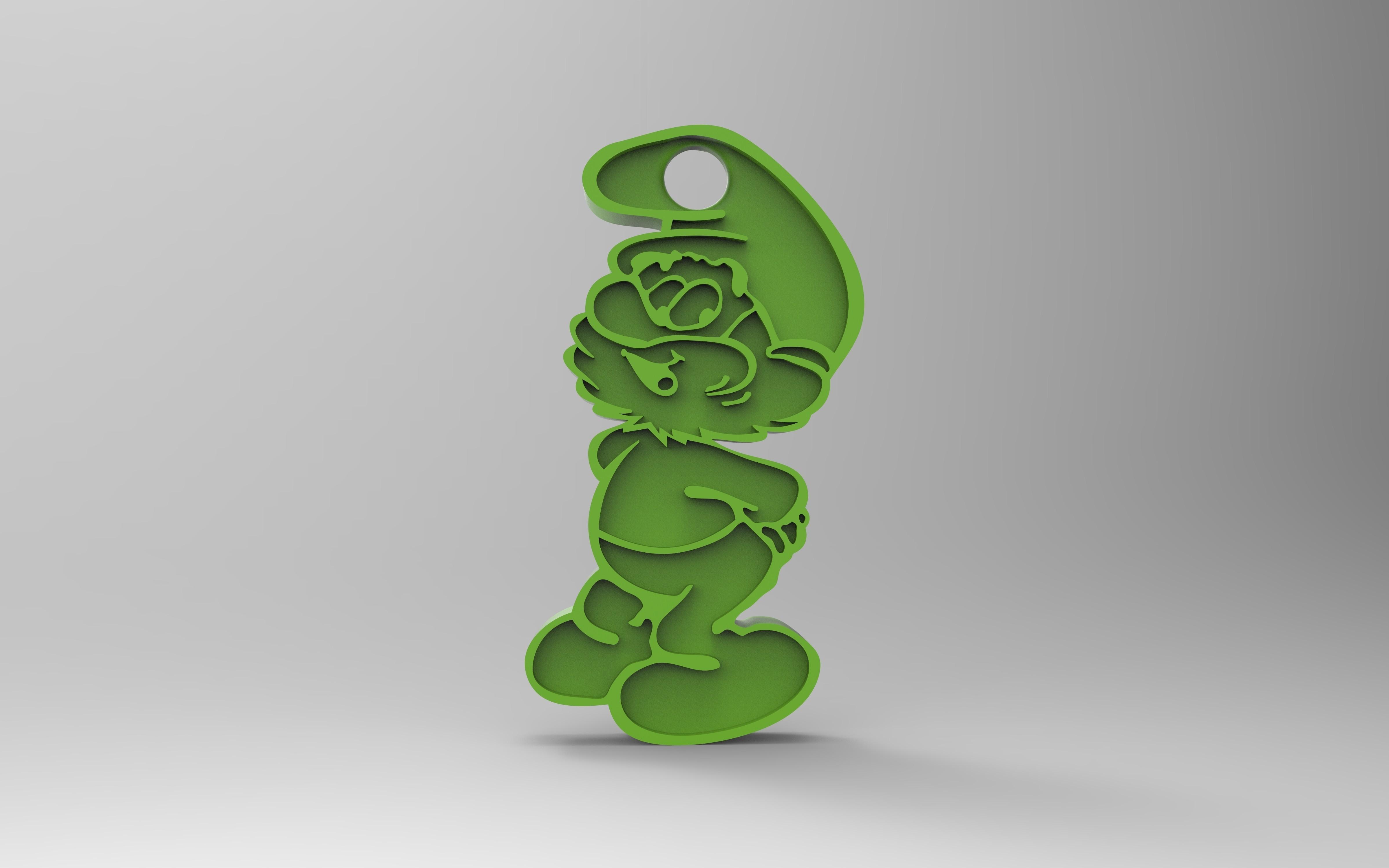 rendu.jpg Download free STL file Key ring • 3D printer model, GuilhemPerroud