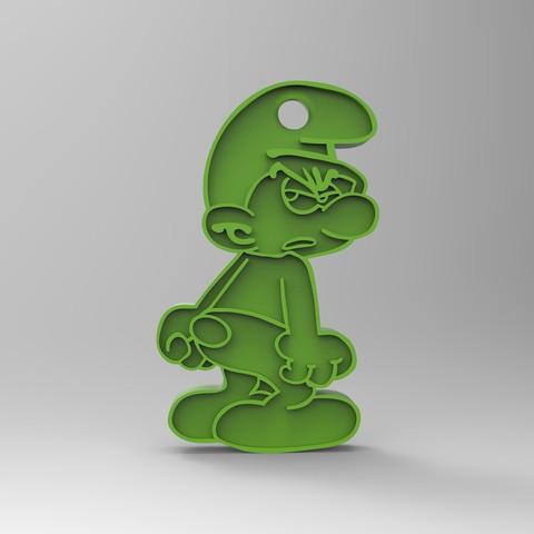rendu 2.26.jpg Download free STL file Key ring • 3D printer model, GuilhemPerroud