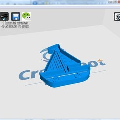 3D printer models cookie cutter boat, FernandoMedina