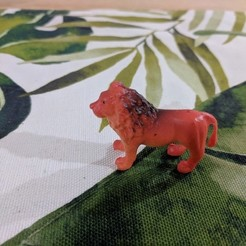 Download free 3D printing templates Lion, sjpiper145