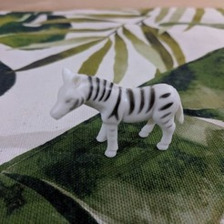 Free 3D printer files Zebra, sjpiper145