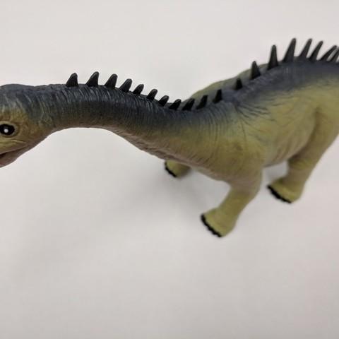 Download free 3D printer files Alamosaurus Dinosaur, sjpiper145