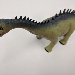 Free 3D printer model Alamosaurus Dinosaur, sjpiper145