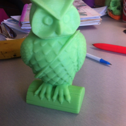 Capture d'écran 2018-05-14 à 14.22.25.png Download free STL file Mail Owl • 3D print design, sjpiper145