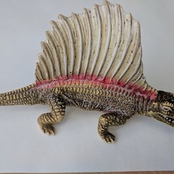 Free 3D printer model Dimetrodon Dinosaur, sjpiper145