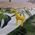 Free 3D printer files Giraffe, sjpiper145