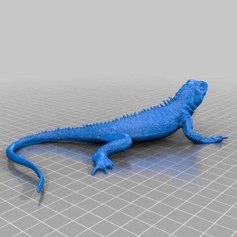 Télécharger fichier imprimante 3D gratuit Lézard, sjpiper145