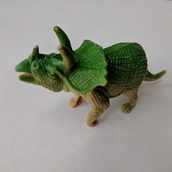 Download free 3D printer designs Triceratops Dinosaur, sjpiper145