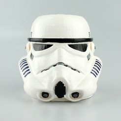 Download free STL files Stormtrooper Pen Cup, sjpiper145