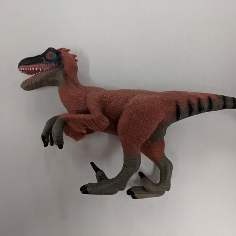 Free 3D printer designs Velociraptor Dinosaur, sjpiper145