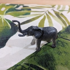 Download free STL file Elephant, sjpiper145