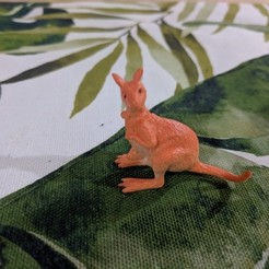 Download free 3D print files Kangaroo, sjpiper145