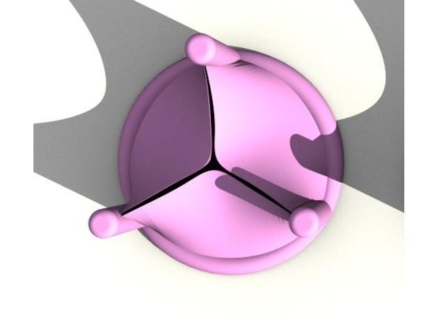 e0b48d5b390c51a7002ed22c3c09d2b0_preview_featured.jpg Télécharger fichier STL gratuit Exemple d'échafaudage de valve mitrale • Design pour imprimante 3D, sjpiper145
