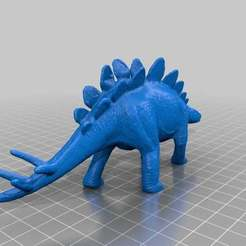 Download free 3D printing files Stegosaurus III, sjpiper145