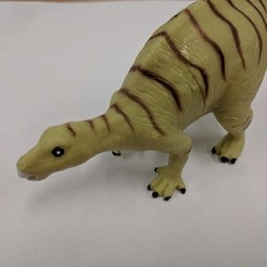 Download free 3D printer designs Iguanodon Dinosaur, sjpiper145