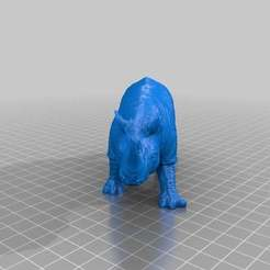 Free 3D printer model Rhino II, sjpiper145