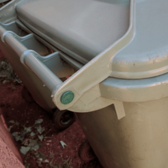 Download free STL Australian Wheelie Bin Pin, sjpiper145