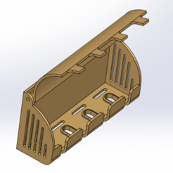 Download 3D printer templates Four Toothbrush Holder with Cover, Zampier