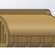 Descargar archivos STL Cuatro porta cepillos de dientes con tapa, Zampier
