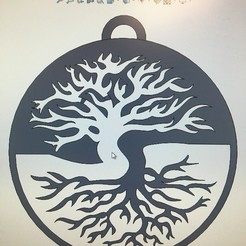 Download free 3D printer templates Tree of Life, nascarbob