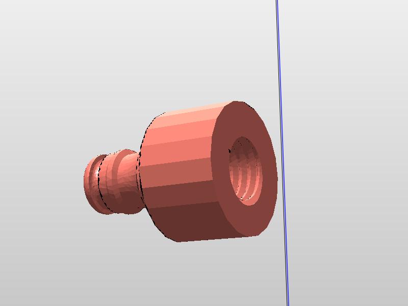 photototot.png Télécharger fichier STL gratuit Raccord Gardena to M8 ou 1/2 • Objet imprimable en 3D, legeeksportif