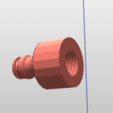 "Download free 3D printing designs Gardena to M8 or 1/2"" connection, legeeksportif"