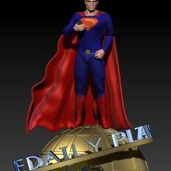 superman HenryCavill_2.jpg Download STL file Superman Henry Cavill • 3D printable design, Darkness