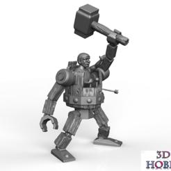FOTO-CULTS_1_bis.png Download OBJ file battle machine sculpture model clash of clans • 3D printer design, kikko