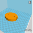 Free bulb shaped ring holder 3D printer file, Marhmoud