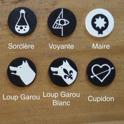 DSC07699 2.jpeg Télécharger fichier STL gratuit Jeu de Loup Garou #Toy  • Plan imprimable en 3D, 10E9