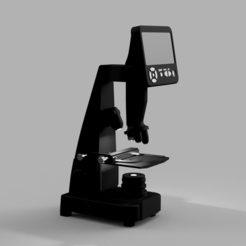 Free 3D printer files Microscope, Vibrions