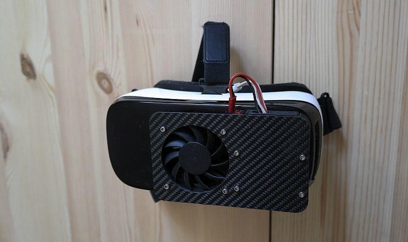 _SAM2222.JPG Download free STL file Housing, 60 mm fan for Samsung Gear VR glasses • 3D printable design, bikepocket