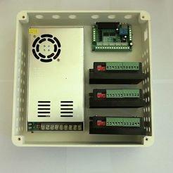 _SAM2217.JPG Download STL file Low budget CNC control housing for Mach 3 - 4 A • Model to 3D print, bikepocket