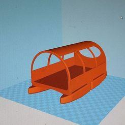 Télécharger fichier STL gratuit Premier projet de mini-bateau maison fonctionnant à l'énergie solaire comme remorque à vélo • Modèle pour imprimante 3D, bikepocket