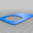 Frontteil.png Download free STL file Housing, 60 mm fan for Samsung Gear VR glasses • 3D printable design, bikepocket
