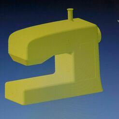 _SAM2366.JPG Download STL file Money box as a sewing machine • 3D printer object, bikepocket