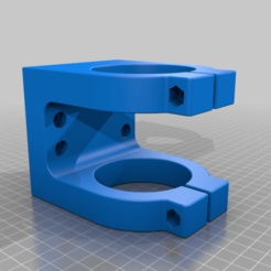 Spindelhalter_.stl.png Download STL file CNC spindle holder for water-cooled spindle 65 mm diameter • 3D print design, bikepocket