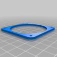 Adapterring.png Download free STL file Housing, 60 mm fan for Samsung Gear VR glasses • 3D printable design, bikepocket