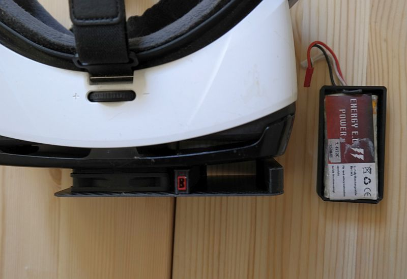 _SAM2224.JPG Download free STL file Housing, 60 mm fan for Samsung Gear VR glasses • 3D printable design, bikepocket