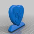 Download free 3D printing models love heart, edwardo