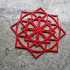 Descargar diseños 3D gratis tapete multiescuadrado, edwardo