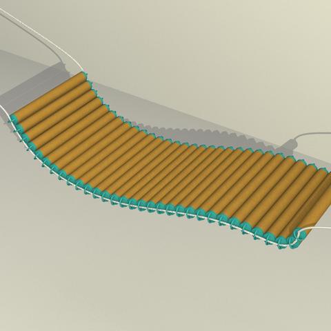 HAMMOCK_1.png Download free STL file HAMMOCK • 3D printing template, TED3D