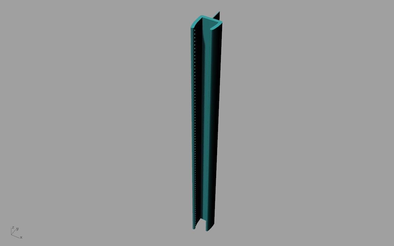 door air stop.jpg Download free STL file AIR STOP FOR GLASS DOORS • Template to 3D print, TED3D