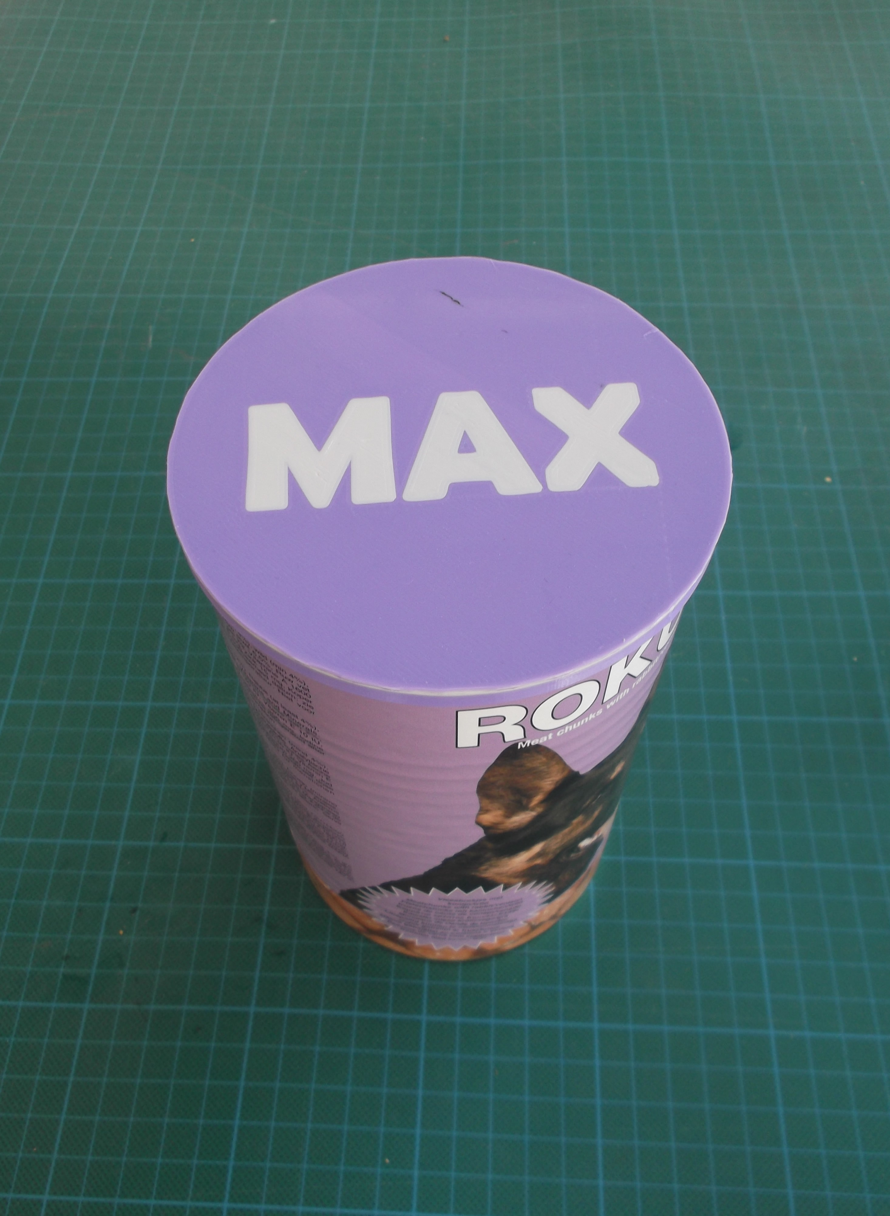 DSCF6521.JPG Download free STL file CANNED DOG FOOD CAP • 3D printing design, TED3D
